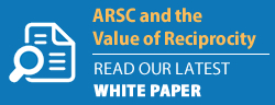 arsc white paper button