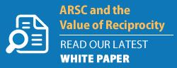 arsc white paper button