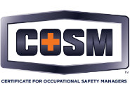Certificate for Occupational Safety Managers (COSM) Delaware Valley Safety Council